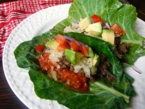 Lettuce Wrap Tacos - Amanda Naturally