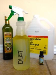 Homemade Dusting Spray - Amanda Naturally