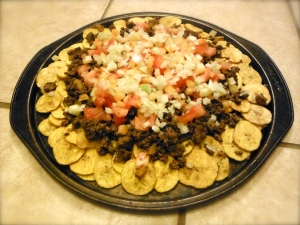 Plantain Chip Nachos - Amanda Naturally