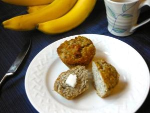 Banana Muffins - Grain Free Dairy Free - Amanda Naturally