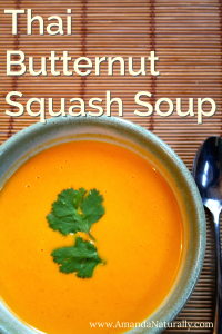 Thai Butternut Squash Soup | Amanda Naturally