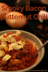 Smoky Bacon Butternut Chili | Paleo | AmandaNaturally.com