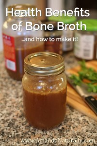 Bone Broth - Amanda Naturally