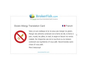 Allergy Gluten French