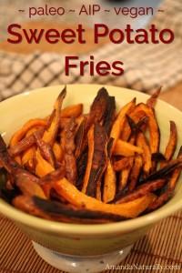 Sweet Potato Fries | AmandaNaturally.com