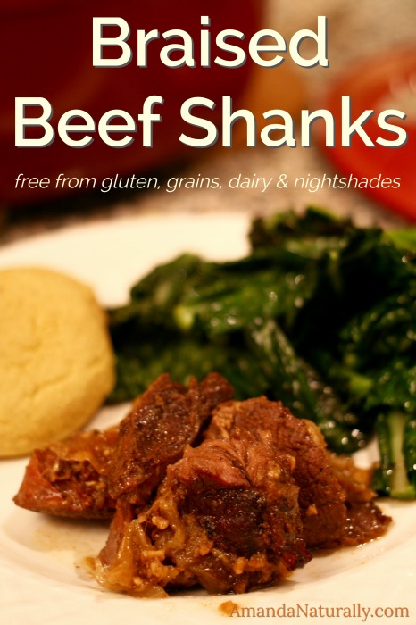Braised Beef Shanks | paleo, AIP | AmandaNaturally.com