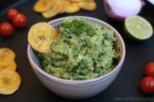 Guacamole & Avocado Tutorial | AmandaNaturally.com
