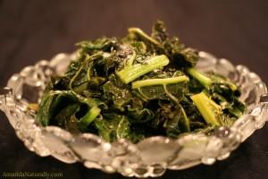Maple Balsamic Kale   vegan , paleo, AIP, delicious   AmandaNaturally.com