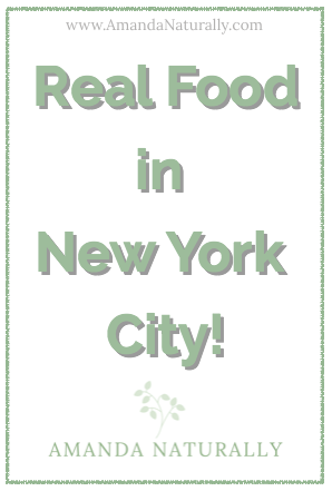Eating gluten-free, dairy-free and mostly paleo (always real food) in New York City is easy! Check out our favourite spots from our birthday trip/babymoon.